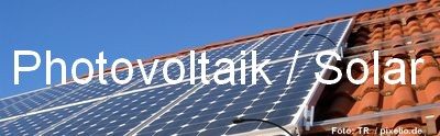 Photovoltaik Immobilien